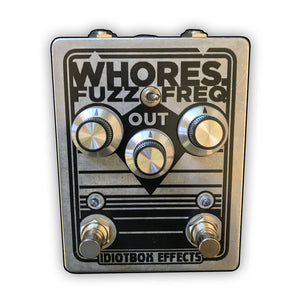 Idiotbox WHORES. Fuzz Freq