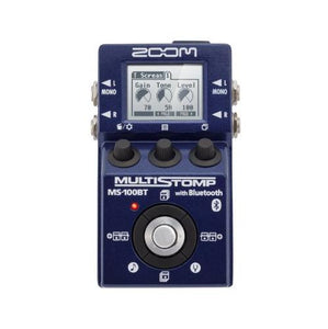 Zoom MS100BT MultiStomp Guitar Pedal with Bluetooth