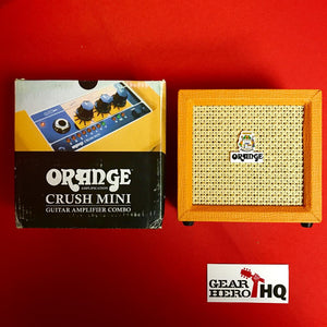 [USED] Orange Amplification Crush Mini 3-Watt Battery Powered Guitar Combo Amplifier