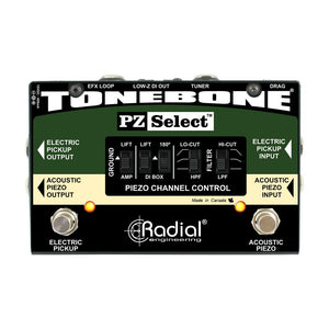 Radial PZ-Select Two Channel Instrument Switcher