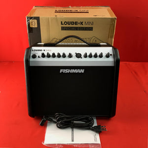 [USED] Fishman Loudbox Mini Acoustic Amplifier, Black/White (Gear Hero Exclusive)