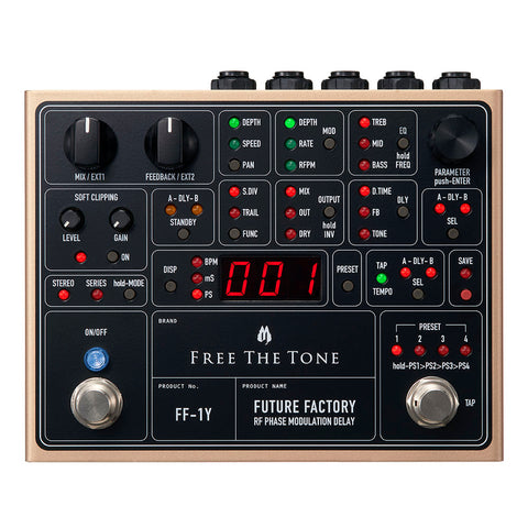 Free The Tone FF-1Y Future Factory RF Phase Modulation Delay
