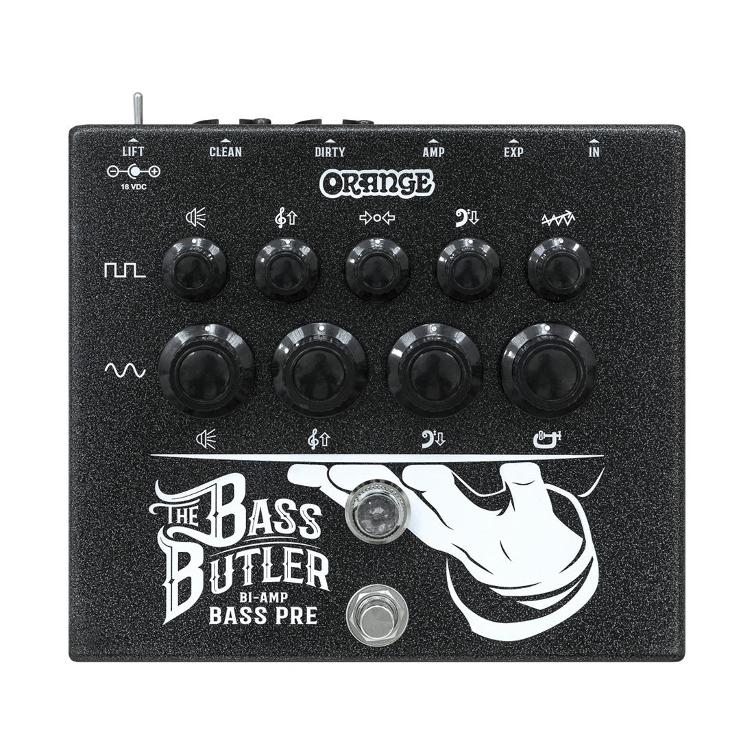 Orange Bass Butler Bi-Amp Bass Preamp
