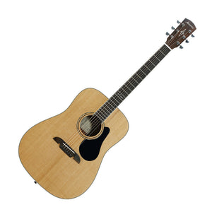 Alvarez AD60 Artist Series Dreadnought Acoustic Guitar, Natural Gloss Finish