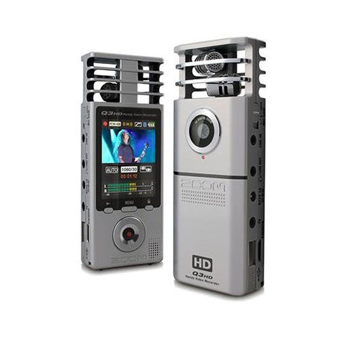 Zoom Q3HD 1080P HANDY CAMCORDER