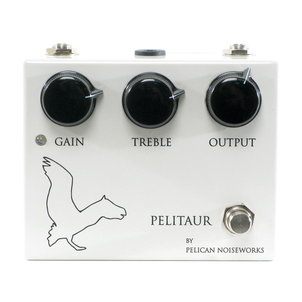 Pelican Noiseworks Pelitaur Fuzz, White/Black (Gear Hero Exclusive)
