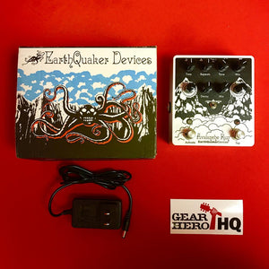 [USED] EarthQuaker Devices Avalanche Run Stereo Delay Reverb (Gear Hero Exclusive White)