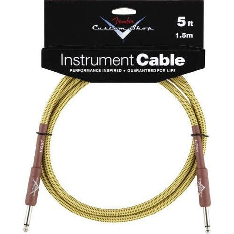 Fender Custom Shop Cable 10ft 3m, Tweed
