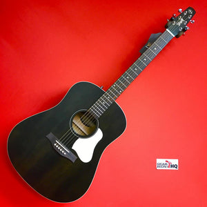 [USED] Seagull S6 Original Slim Acoustic Guitar Flat Black with Bag (GearHero Exclusive)