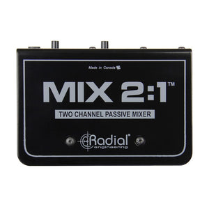 Radial MIX 2:1 Two Channel Audio Combiner and Mixer