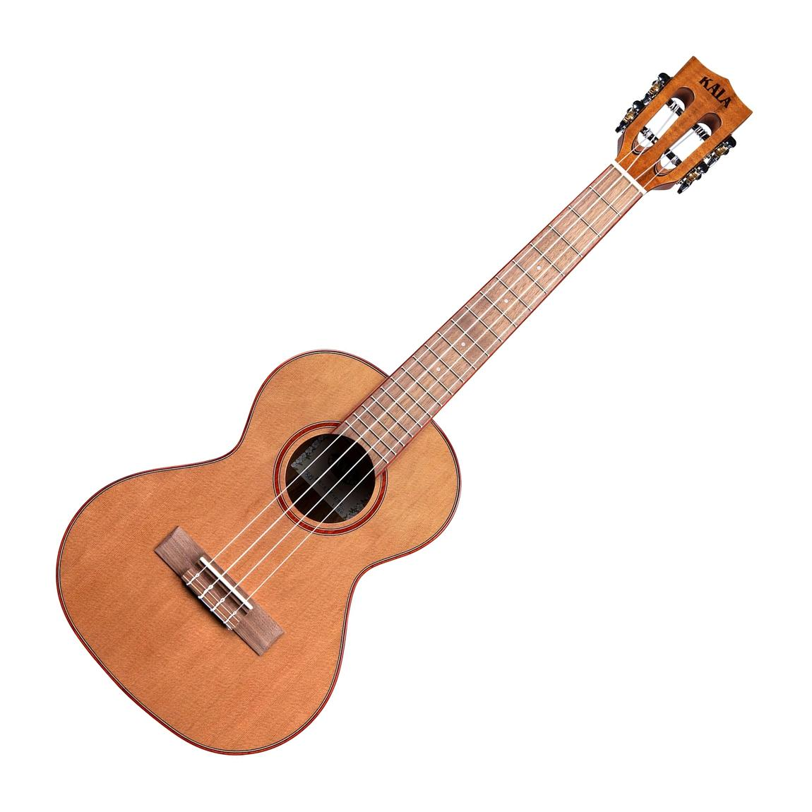 Kala KA-ATP-CTG Acacia Cedar Top Tenor Ukulele, Natural Gloss Finish
