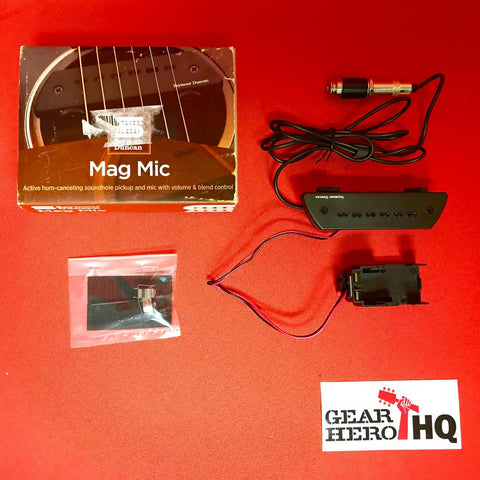 [USED] Seymour Duncan SA-6 Mag Mic Acoustic Soundhole Mic System