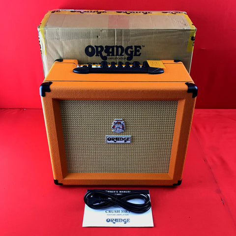 [USED] Orange Crush 35RT 35W 1x10 Guitar Combo Amp