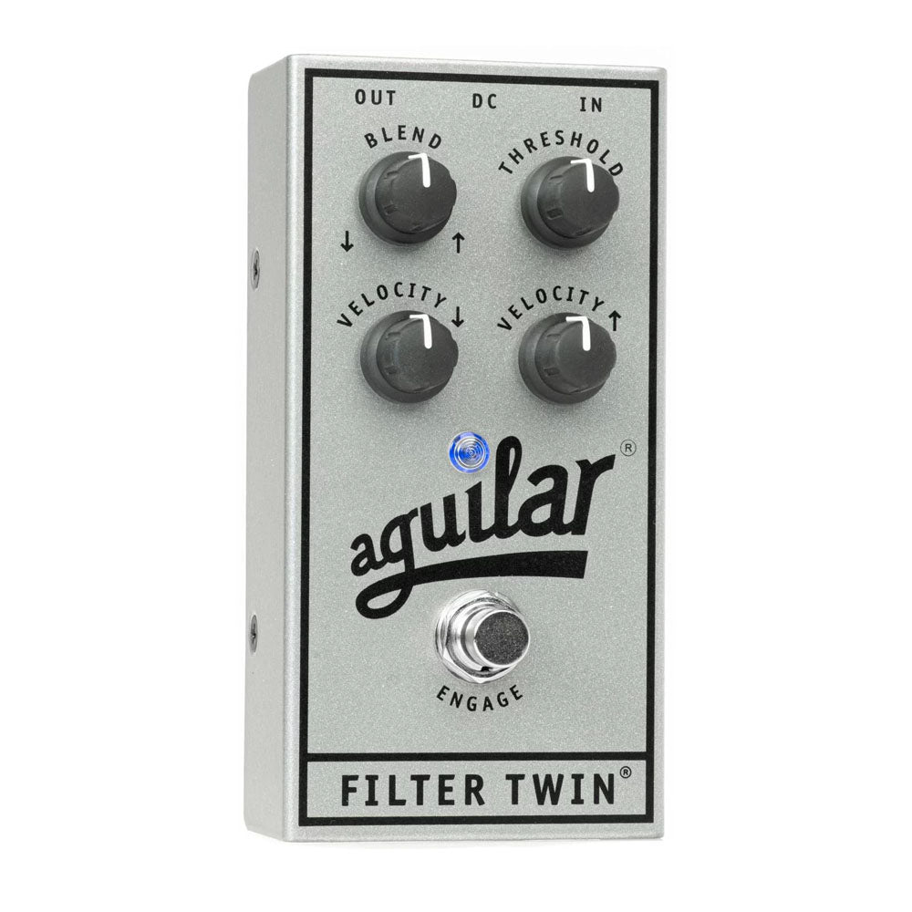 Aguilar Filter Twin Bass Filter, 25th Anniversary Silver (Limited Edition)