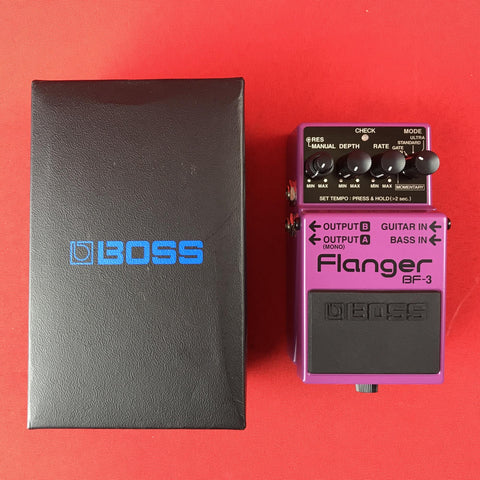 [USED] Boss BF-3 Flanger Guitar Effects Pedal