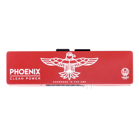 Walrus Audio Phoenix 15 Output Power Supply, Red/White (Gear Hero Exclusive)
