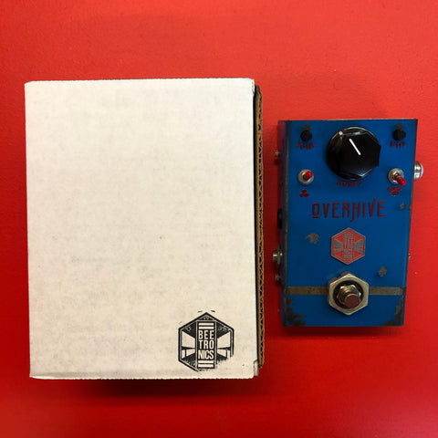 [USED] Beetronics Overhive Overdrive, Blue (Pedal Genie Exclusive)