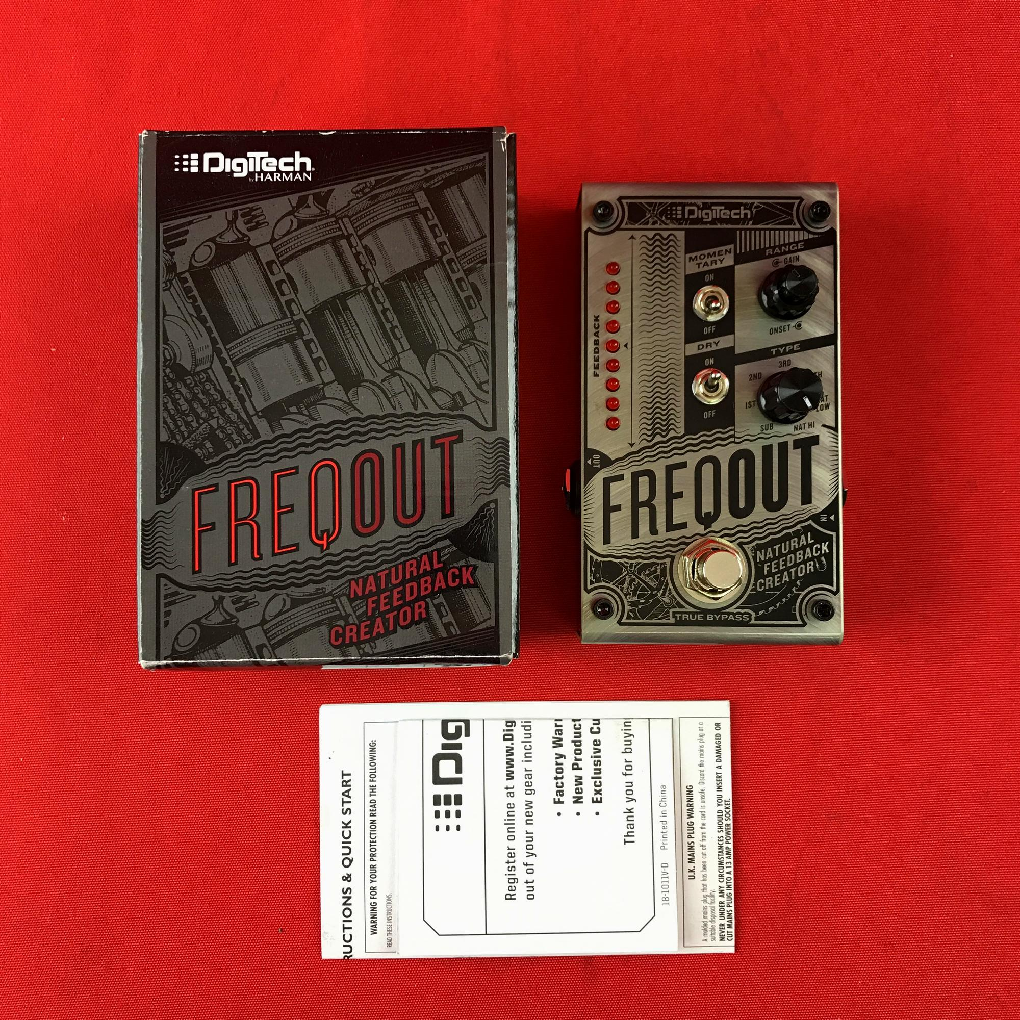 [USED] DigiTech FreqOut Natural Feedback Creation