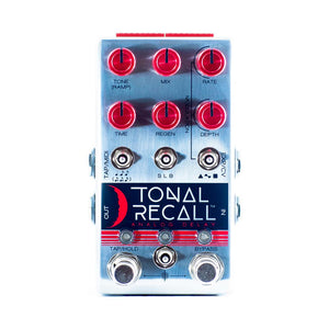 Chase Bliss Audio Tonal Recall Analog Delay, Red Knob Mod