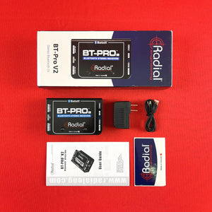 [USED] Radial BT-Pro V2 Stereo Bluetooth DI (See Description).
