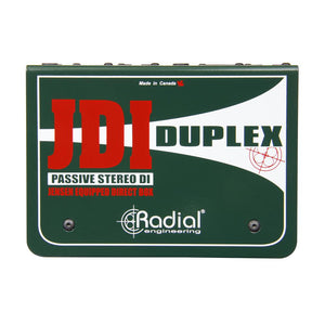 Radial JDI Duplex Stereo Direct Box