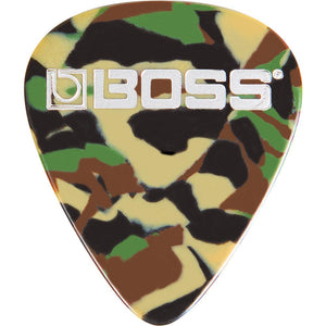 Boss BPK-72-CH Celluloid Pick, Camo Heavy