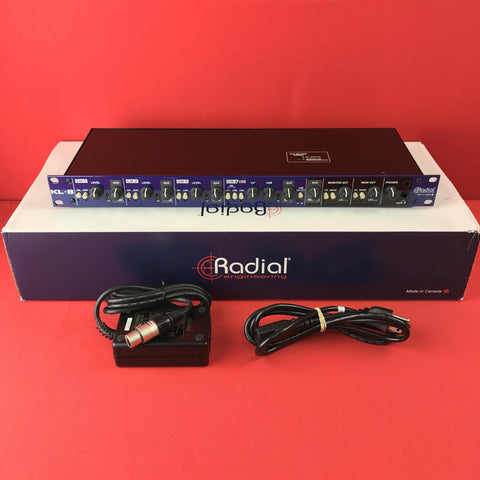 [USED] Radial KL-8 Rackmount Keyboard Mixer