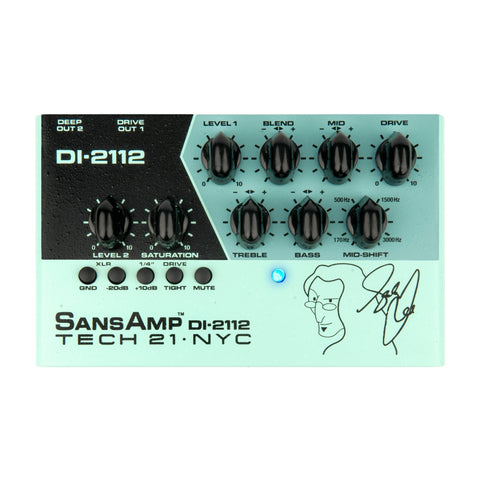 Tech 21 DI-2112 Geddy Lee Signature SansAmp Bass Preamp