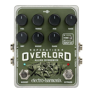 Electro-Harmonix Operation Overlord Allied Stereo Overdrive
