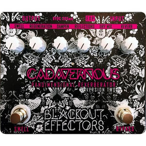 Blackout Effectors Cadavernous Reverberator