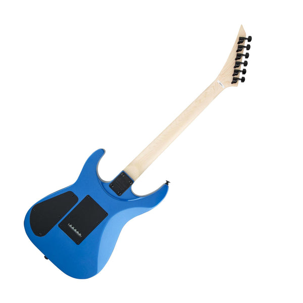 Jackson JS22 JS Series Dinky Arch Top Electric Guitar Amaranth Fingerboard, Metallic Blue