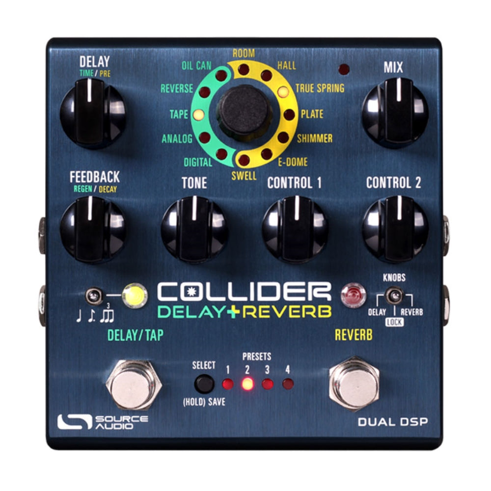Source Audio SA263 Collider Stereo Delay and Reverb