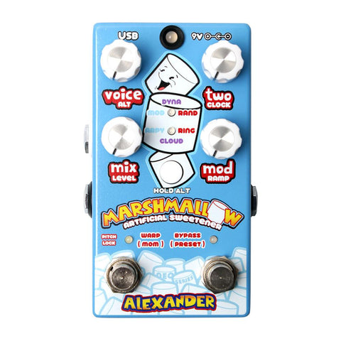 Alexander Pedals Marshmallow Artificial Sweetener Modulation