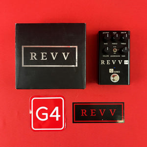[USED] Revv Amplification G4 High Gain Distortion, Blackout Edition (Gear Hero Exclusive)