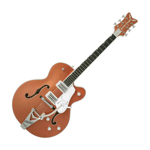 Gretsch G6136T Limited Edition Falcon Hollowbody Electric Guitar, Two Tone Copper/Sahara Metallic