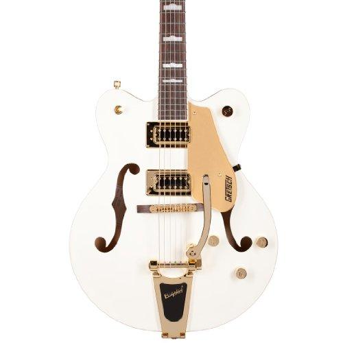 Gretsch G5422TDCG Electromatic Hollow Body Electric Guitar, Snow Crest White