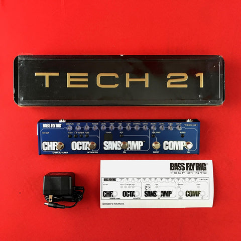 [USED] Tech 21 FR-BASS Bass Fly Rig SansAmp/Chorus/Fuzz/Compressor/Tuner