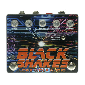 Lone Wolf Audio Black Shakes Phaser/Sample Hold/Ring Mod