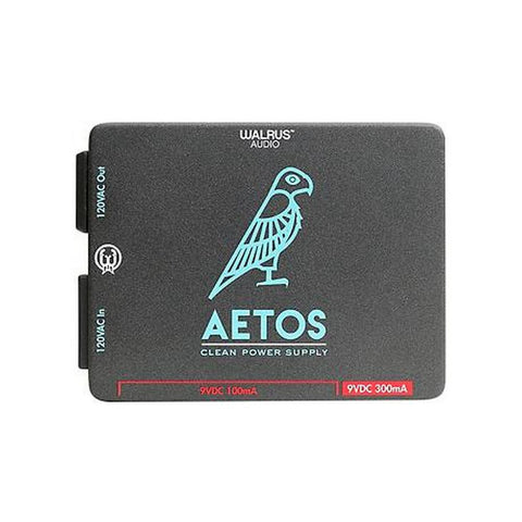 Walrus Audio Aetos 8 Output Power Supply Black w/ Blue and Red Art