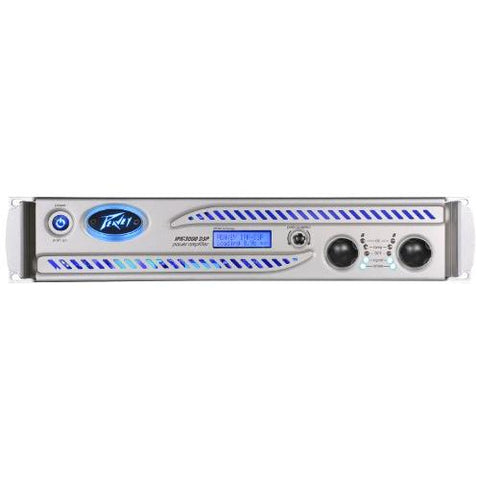 Peavey IPR DSP 3000 1000w Per Channel @ 4 Ohms Power Amplifier w/ DSP