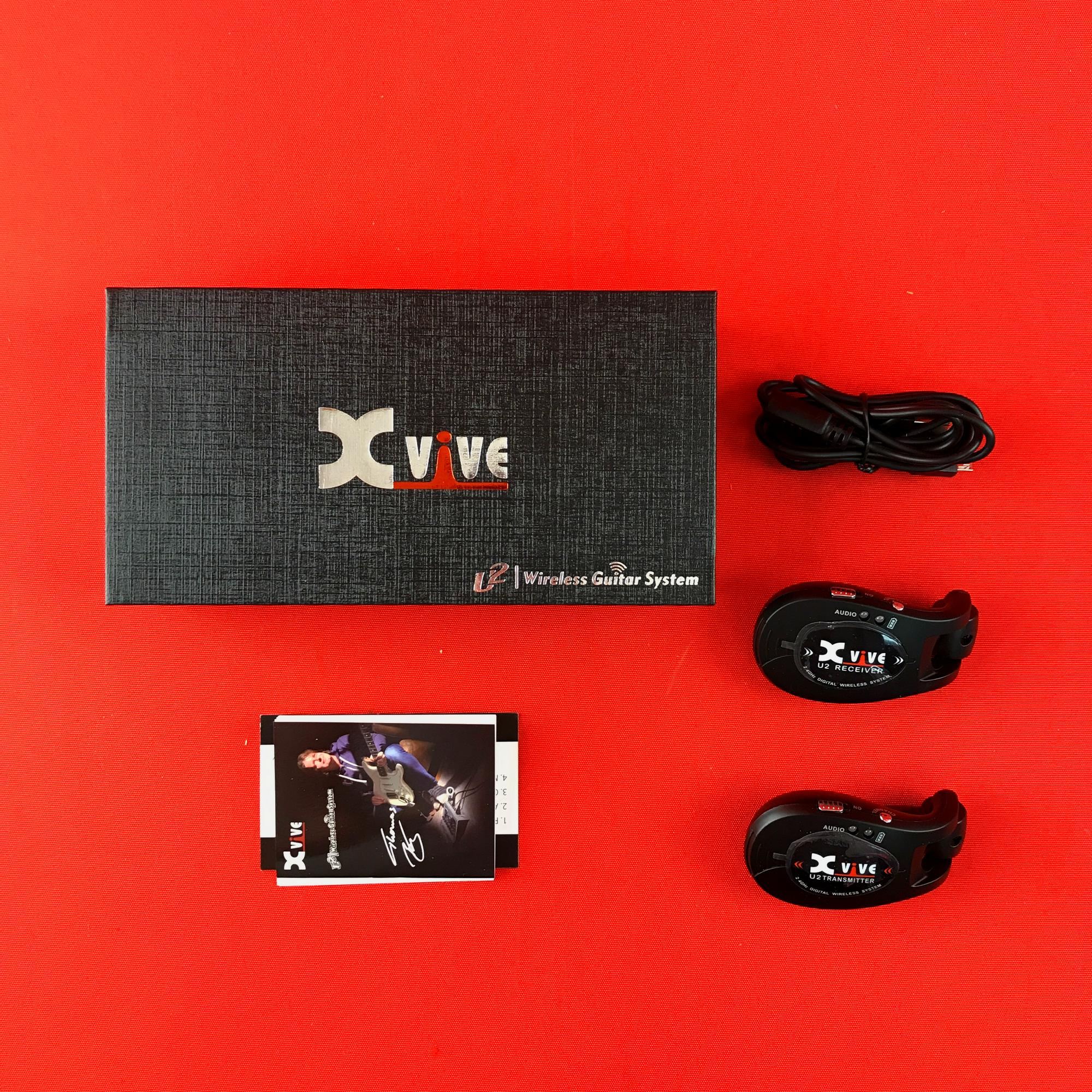 [USED] Xvive U2 2.4GHZ Wireless Guitar System, Black