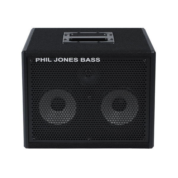 "Phil Jones Bass CAB-27 2x7 Bass Cab 200W 8 Ohm w/3"" Tweeter"