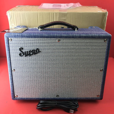 [USED] Supro 1970RK Keeley Custom Guitar Amplifier Combo