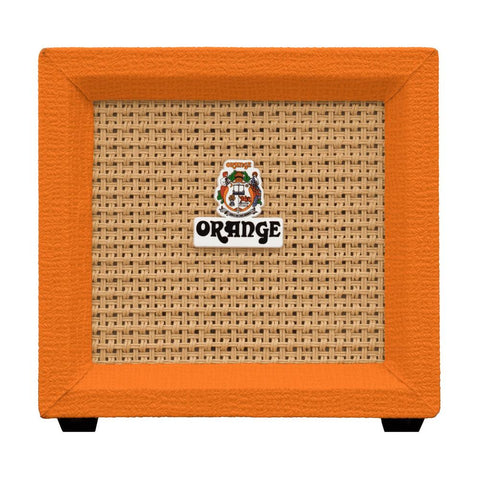Orange Amplification Crush Mini 3-Watt Battery Powered Guitar Combo Amplifier