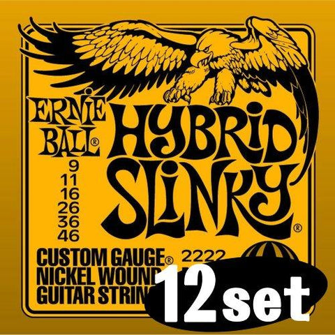 Ernie Ball 2222 Hybrid Slinky Electric Strings (09 - 46)