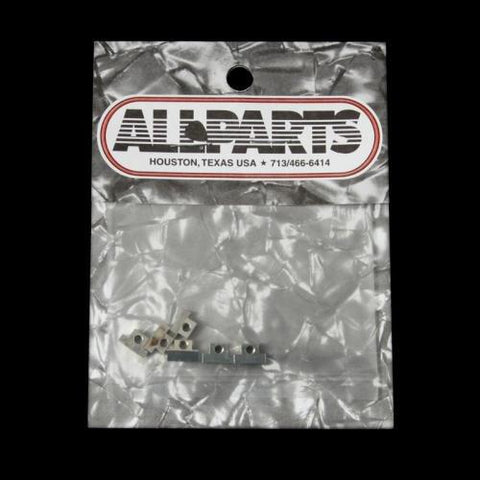 All Parts BP-0535-001 Bridge Saddles Old-Style Nickel