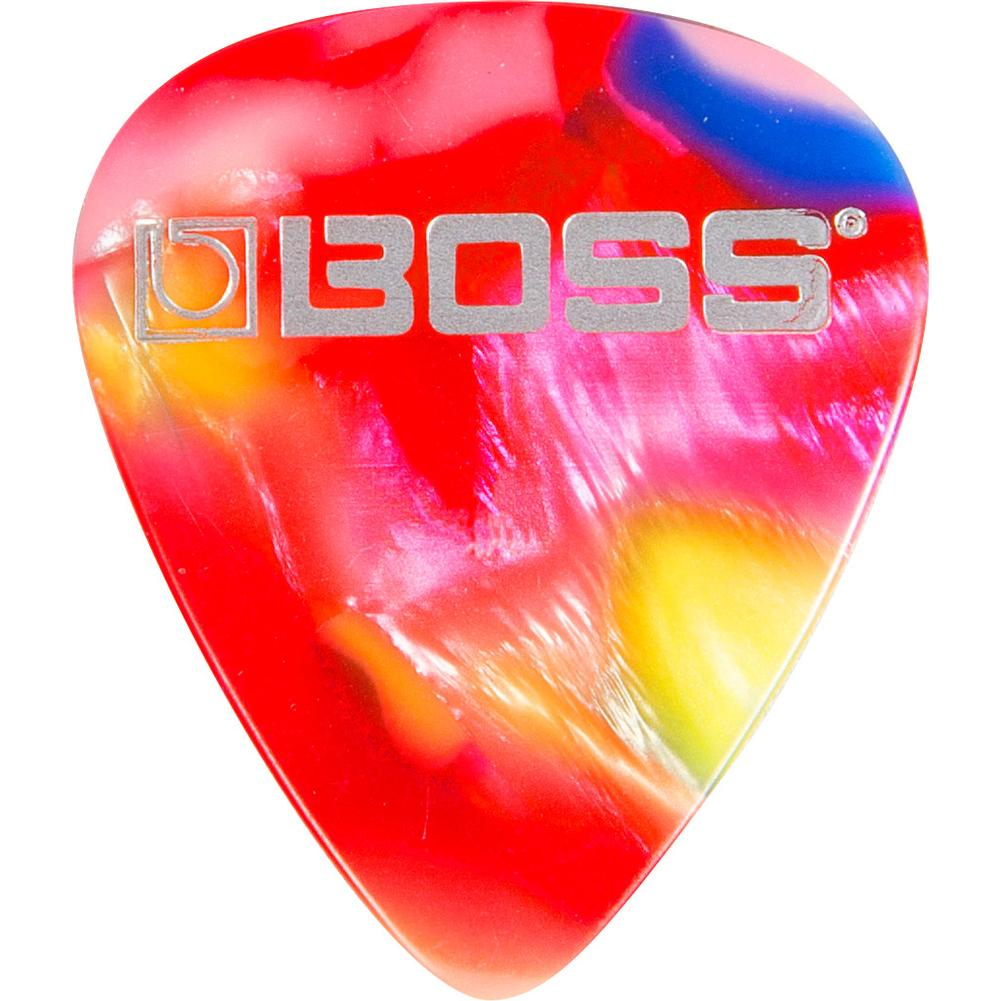 Boss BPK-72-MM Celluloid Pick, Mosaic Medium