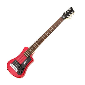 Hofner HCT-SH-R-O Shorty Electric Guitar, Red