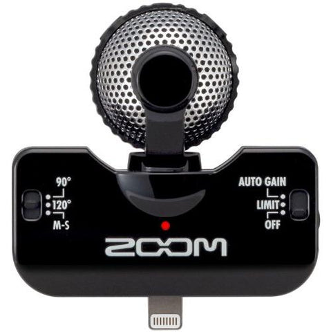 Zoom iQ5B Professional Stereo Microphone for iOS