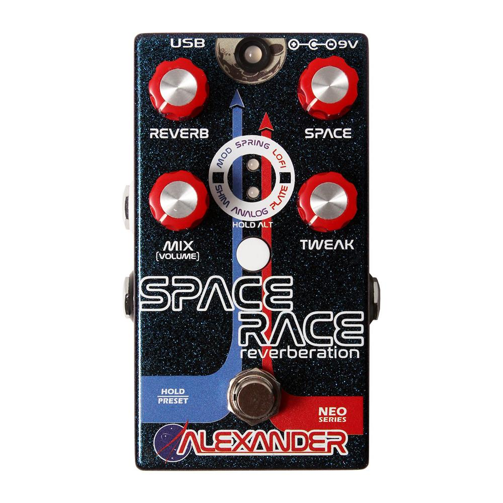 Alexander Pedals Space Race Reverb